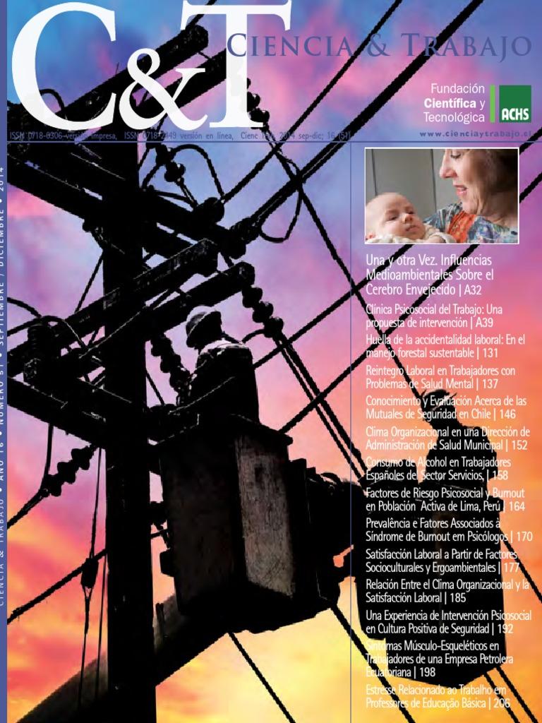Revista ciencia y trabajo volumen 51 fandeluxe Choice Image