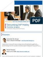 1006 Demystifying Sap Mobility - Customer Projects on iPhone Development and Rf Processing