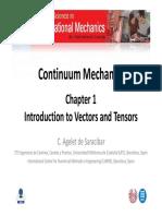 1 Vectors and Tensors