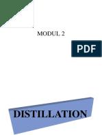 Distilation and Flash Vaporization