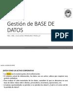 1. Postgrado Gestion de Bade de Datos Gestion de Base de Datos - Fundamentos Ok
