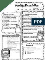 sept  1st newsletter pptx