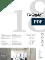 Catalogo General Togama 2018