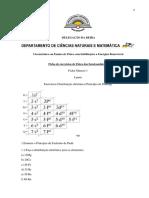 Ficha n 1 de Exercicios Dos Semicondutores