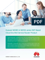 Huawei NE08E NE05E Series Mid End Router Product Brochure