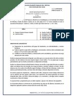 DIAGNOSTICO 3° 2015