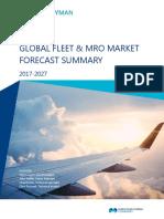 2017 Global Fleet MRO Market Forecast Summary Final_Short Version_1