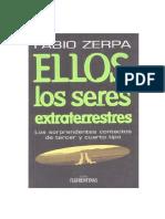 Zerpa Fabio Ellos Los Seres Extraterrestres