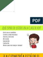 PPT Clasificación de ángulos (agudo, recto, obtuso, extendido y completo)
