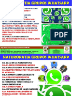 Naturopatia Grupos en Whatsapp