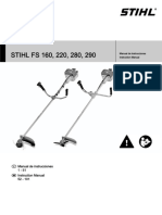 Manual Guadaña (Fs280)