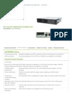 Product Overview for APC Smart-UPS 1500VA USB & Serial RM 2U 230V _ APC