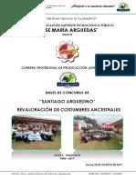 Bases Del Concurso de Santiago