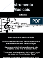 Instrumentos musicais bíblicos
