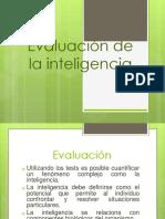 6. Evaluación de La Inteligencia