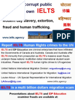 IDP Education IELTS Modern Day Slavery