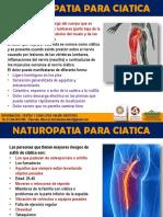 Naturopatia para ciática