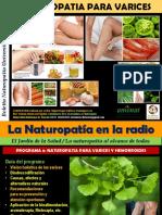 Naturopatía para varices