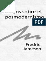 -- JAMESON Ensayos Sobre El Posmodernismo