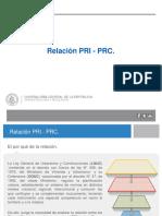 Relación PRI - PRC Valpo.