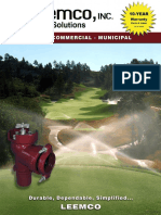 Golf Commercial Tradeshow Brochure - 2016 Web