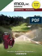 Golf Commercial Tradeshow Brochure - 2016 Web