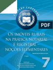Os imóveis rurais na prática notarial e registral – noções elementares