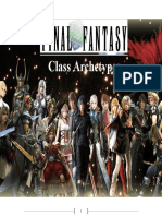 FFd20 Class Archetypes