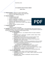 7 Plan de Recapitulare Pentru Evaluarea Initiala
