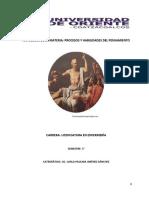 Antología de Procesos y Habilidades de Pensamiento