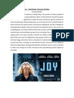 Joy Worksheet