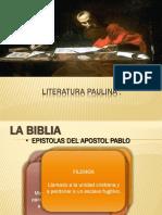 Literatura Paulina