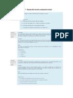 Paso 1 - Desarrollo Lección Evaluación Inicial