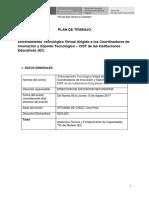 Plan de Entrenamiento Virtual Para Los CIST de Las IIEE JEC