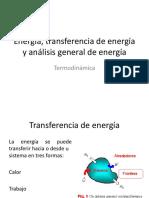 Energía, Transferencia de Energía