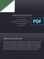 Cinetica de Rx- Pedro Vigil