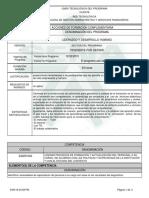 Informe Programa Liderazgo y Desarrollo Humano 40h