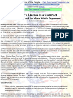 Your Driver's License is a Contract