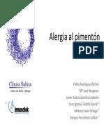 Alergia Pimento n