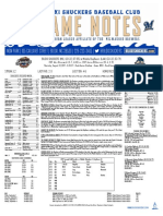8.31.17 at MOB Game Notes
