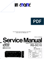 Hfe Technics Rs-dc10 Service