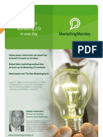Flyer Master of Marketing 2.0 in One Day