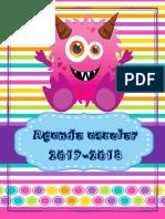 Agenda.monstruos