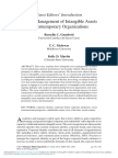 l Management of Intangible Assets in Contemporary Organizations