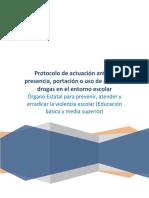 Protocolo Armas y Drogas 19.01.17