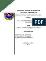 Análisis Financiero TESLA