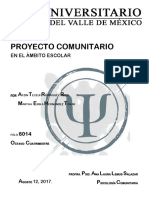 Proyecto Educativo Comunitario Final