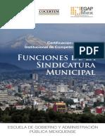 FUNCIONES de La Sindicatura Municipal
