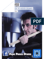 Jojo Mayer Secret Weapons for the Modern Drummer a Guide to Hand Technique