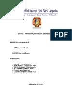 Escuela Profesional Ingeniería Agroindustrial